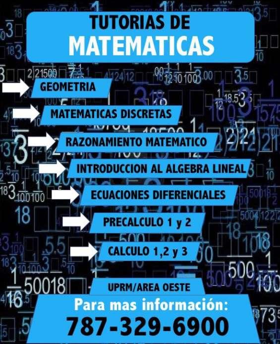 Tutorias de matematica