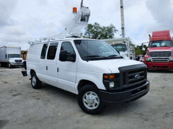 2008 ford econoline 350 (1 ton) telsa fiber optic splicer ready