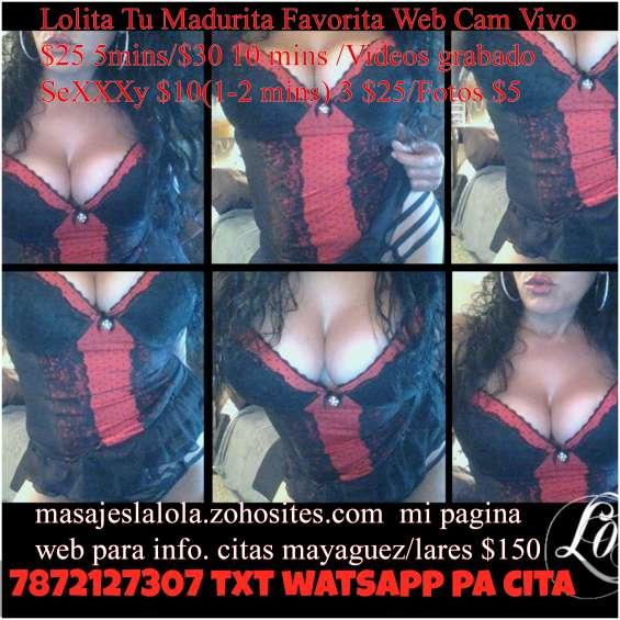 Especiales y videos nuevos con lolita madurita bellaquita por $$ athmovil