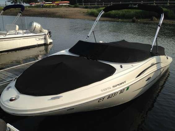 Sea ray 185 sport 2010 con motor 190 hp actualizado.