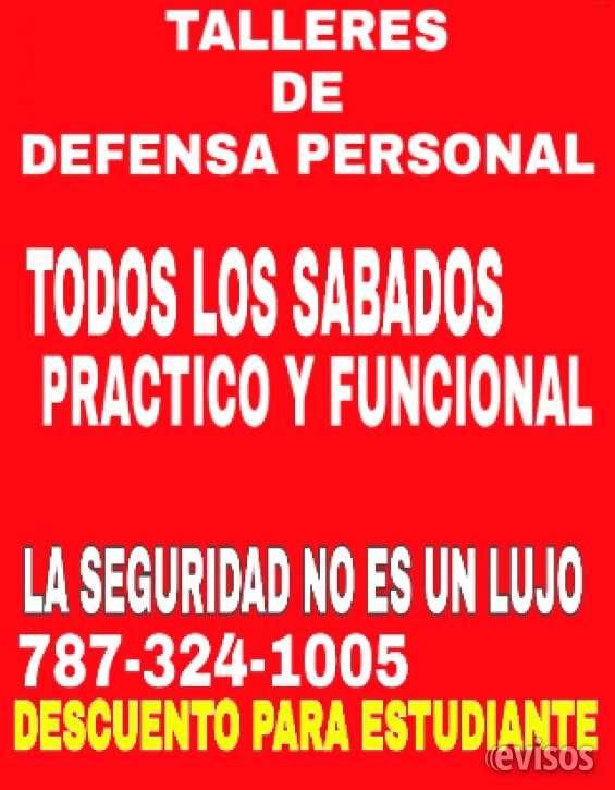 Certificacion defensa personal mayaguez