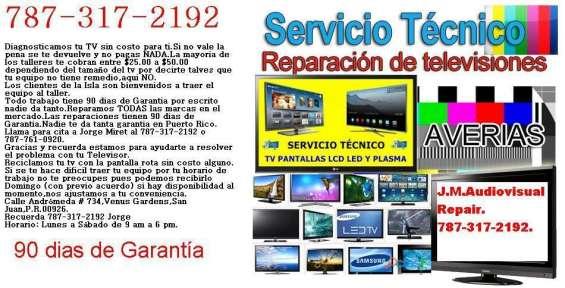 Reparacion televisores lcd,plasmas y leds