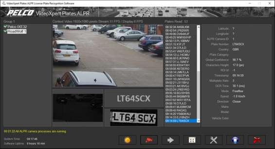 Eas plates screen capture cctv security services puerto rico